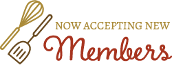 The Cook's Nook Austin is now accepting new members!